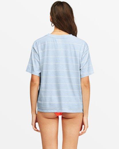 2 Beach Stripes Short Sleeve T-Shirt White ABJKT00185 Billabong