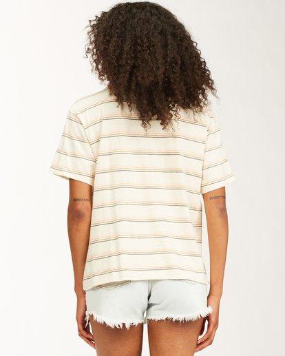 2 Beach Stripes Short Sleeve T-Shirt Grey ABJKT00185 Billabong