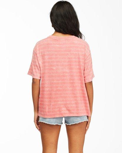 2 Beach Stripes Short Sleeve T-Shirt Multicolor ABJKT00185 Billabong