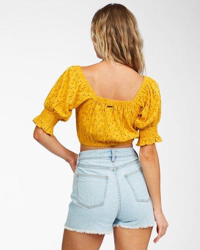 2 Summer Girl Top Yellow ABJKT00216 Billabong