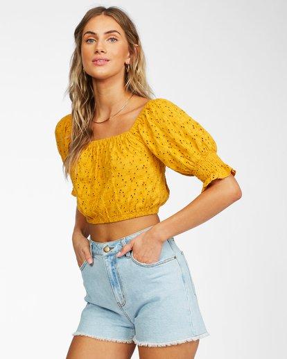 1 Summer Girl Top Yellow ABJKT00216 Billabong