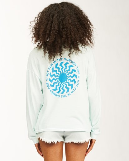 2 Surfadelic Long Sleeve T-Shirt Blue ABJKT00221 Billabong