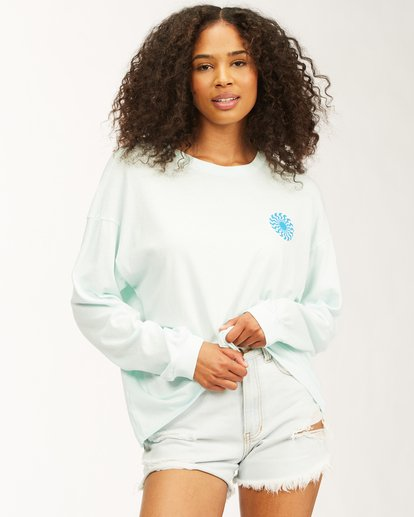 0 Surfadelic Long Sleeve T-Shirt Blue ABJKT00221 Billabong