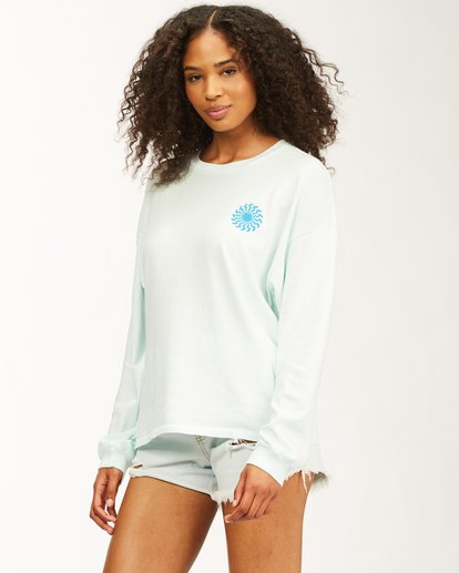 1 Surfadelic Long Sleeve T-Shirt Blue ABJKT00221 Billabong