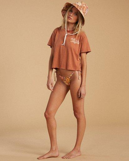 4 Salty Blonde Beach Crew T-Shirt Brown ABJKT00223 Billabong