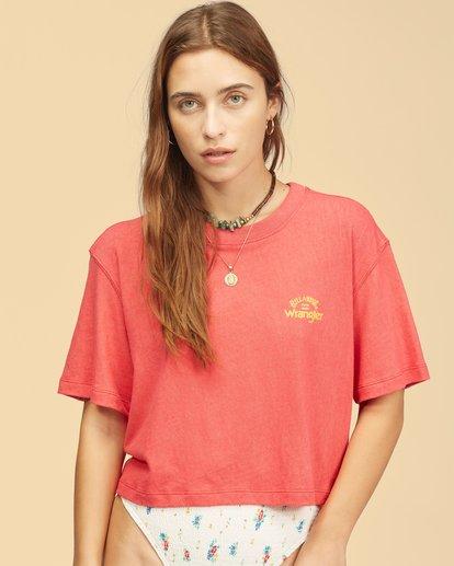 1 Wrangler Made It T-Shirt Red ABJKT00235 Billabong