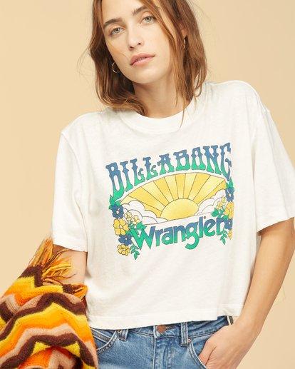 4 Wrangler Made It T-Shirt White ABJKT00235 Billabong