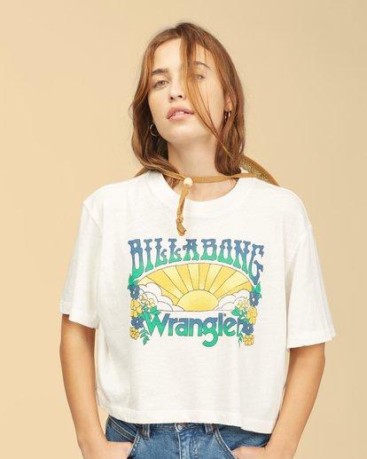 5 Wrangler Made It T-Shirt White ABJKT00235 Billabong