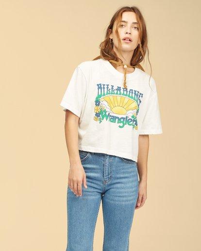 1 Wrangler Made It T-Shirt White ABJKT00235 Billabong