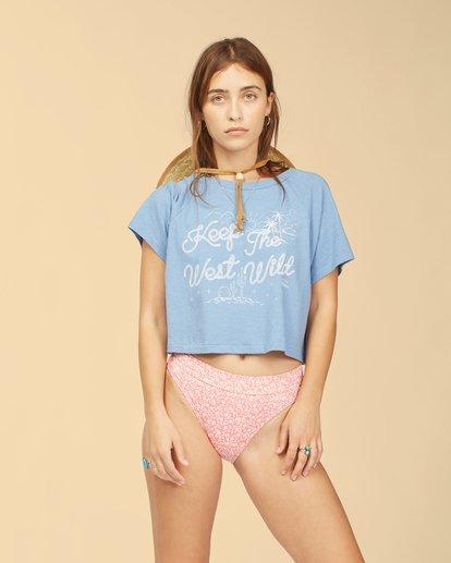 1 Wrangler Take It Back T-Shirt Blue ABJKT00238 Billabong