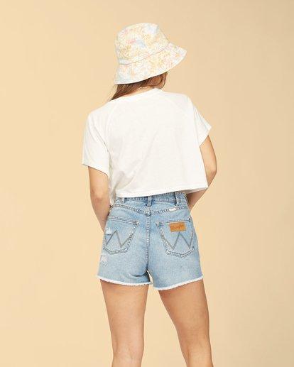 4 Wrangler Take It Back T-Shirt White ABJKT00238 Billabong
