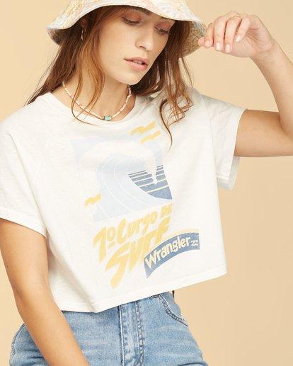 5 Wrangler Take It Back T-Shirt White ABJKT00238 Billabong
