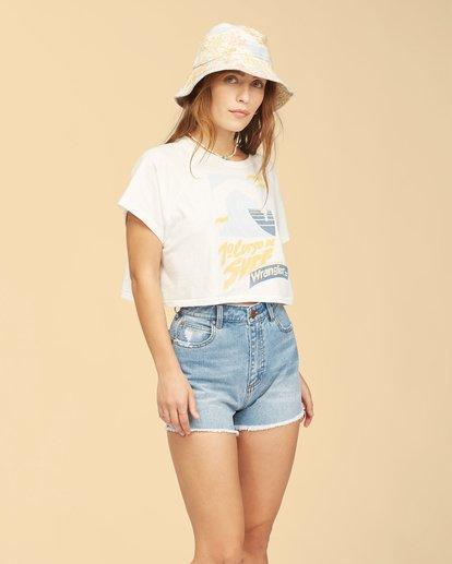 1 Wrangler Take It Back T-Shirt White ABJKT00238 Billabong