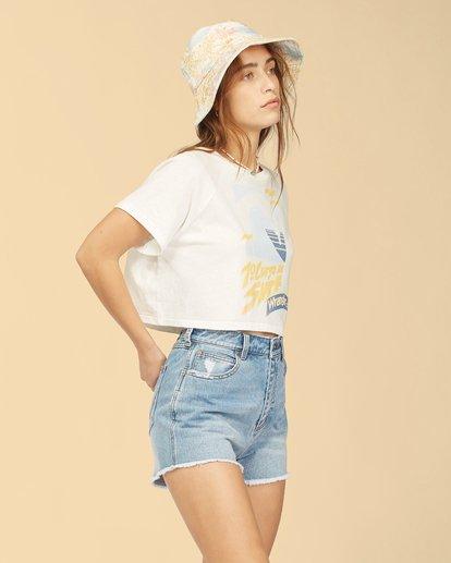 2 Wrangler Take It Back T-Shirt White ABJKT00238 Billabong