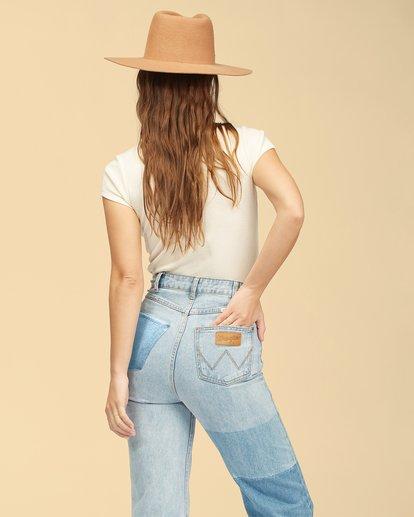 3 Wrangler Hey Honey T-Shirt White ABJKT00239 Billabong