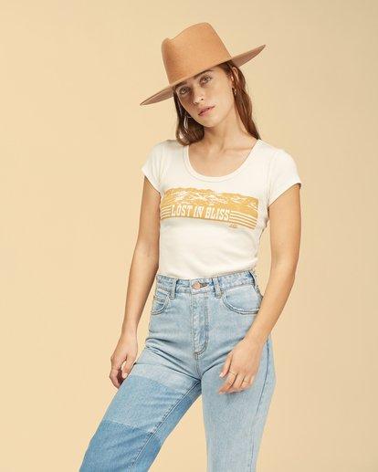 1 Wrangler Hey Honey T-Shirt White ABJKT00239 Billabong