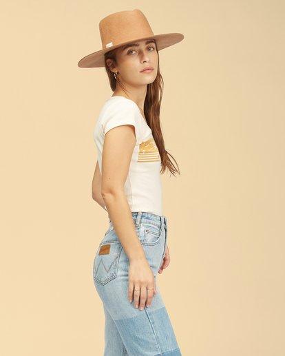 2 Wrangler Hey Honey T-Shirt White ABJKT00239 Billabong
