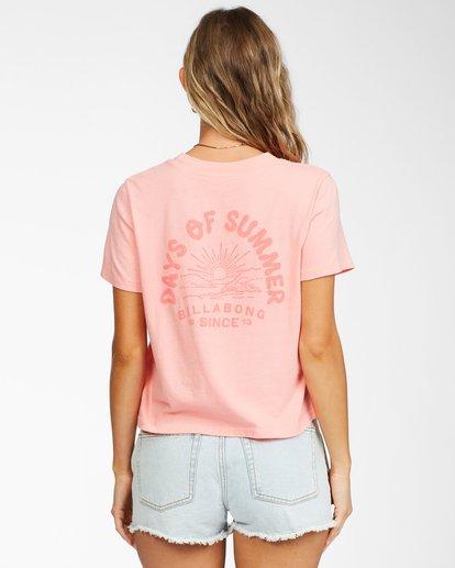 2 Eco Rockers T-shirt Orange ABJKT00262 Billabong
