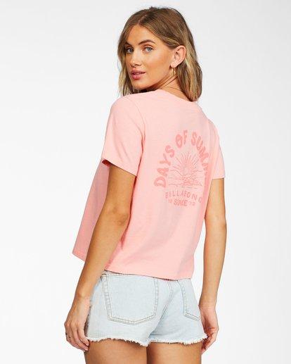 1 Eco Rockers T-shirt Orange ABJKT00262 Billabong