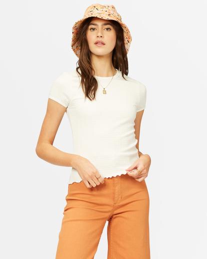 0 Baby Me T-Shirt White ABJKT00267 Billabong