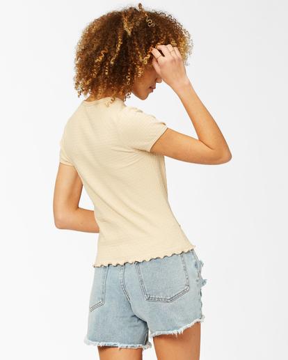 2 Baby Me T-Shirt Beige ABJKT00267 Billabong