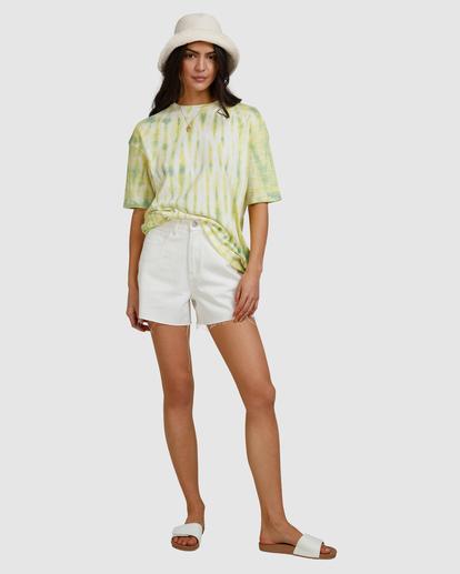 6 Tie-Dye Tee T-Shirt Green ABJKT00336 Billabong
