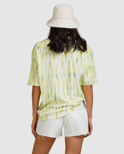 3 Tie-Dye Tee T-Shirt Green ABJKT00336 Billabong