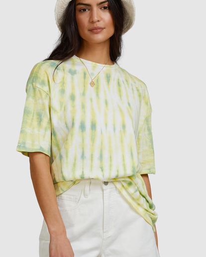 5 Tie-Dye Tee T-Shirt Green ABJKT00336 Billabong