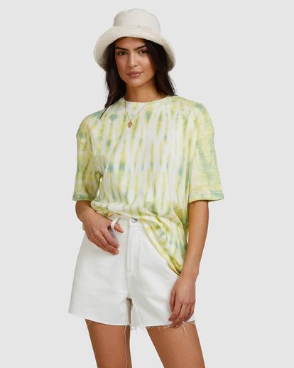 4 Tie-Dye Tee T-Shirt Green ABJKT00336 Billabong