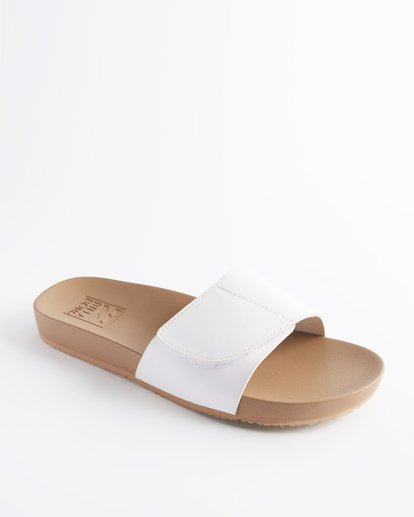 1 Coronado Slide Sandal White ABJL200005 Billabong