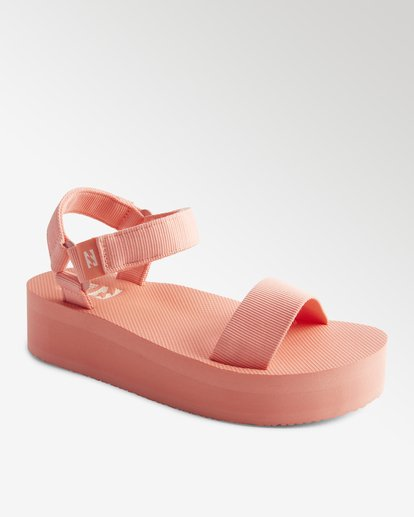 0 Kari On Platform Sandal Pink ABJL200007 Billabong