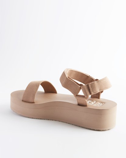 2 Kari On Platform Sandal Beige ABJL200007 Billabong