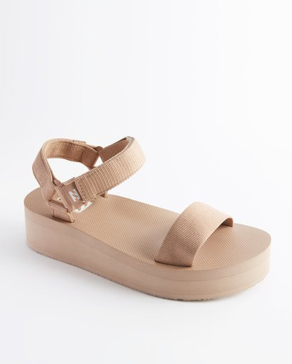 1 Kari On Platform Sandal Beige ABJL200007 Billabong