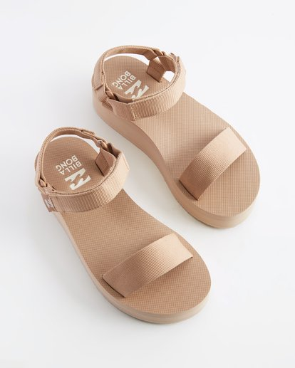 0 Kari On Platform Sandal Beige ABJL200007 Billabong