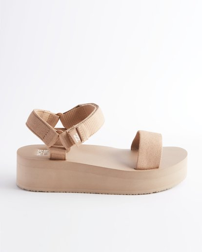 3 Kari On Platform Sandal Beige ABJL200007 Billabong