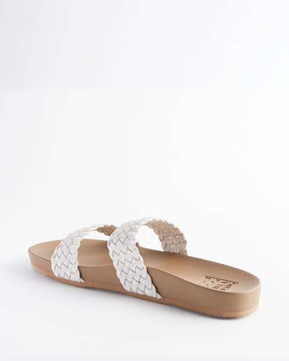 3 Santos Slide Sandal White ABJL200014 Billabong