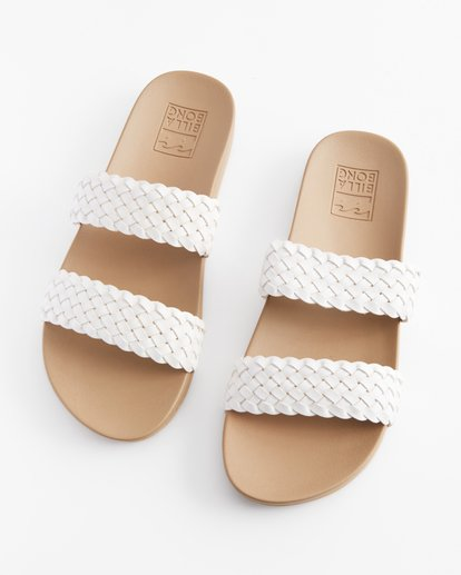 1 Santos Slide Sandal White ABJL200014 Billabong