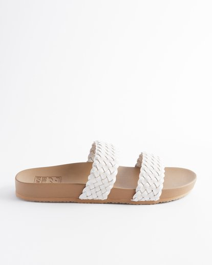 4 Santos Slide Sandal White ABJL200014 Billabong