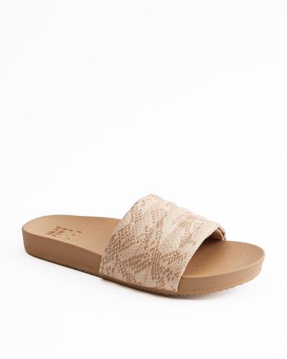 2 Hermosa Slide Sandals Beige ABJL200026 Billabong