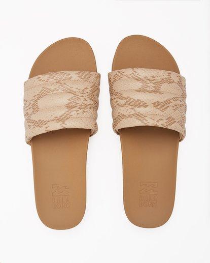 1 Hermosa Slide Sandals Beige ABJL200026 Billabong