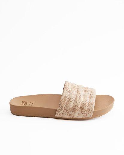 4 Hermosa Slide Sandals Beige ABJL200026 Billabong