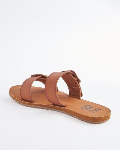 3 Coconut Cove Double Strap Sandals Beige ABJL200027 Billabong