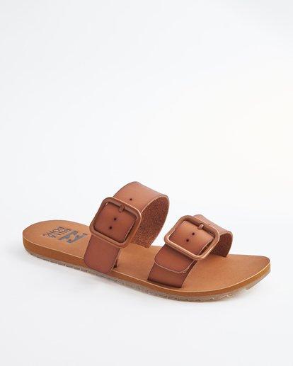 2 Coconut Cove Double Strap Sandals Beige ABJL200027 Billabong