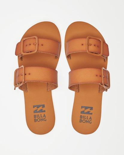 1 Coconut Cove Double Strap Sandals Beige ABJL200027 Billabong