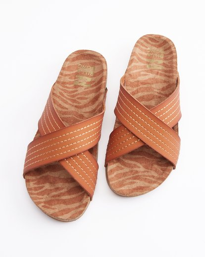 0 Bella Vista Double Strap Sandals Beige ABJL200029 Billabong