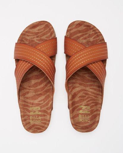 1 Bella Vista Double Strap Sandals Beige ABJL200029 Billabong