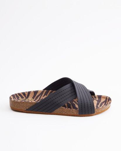 4 Bella Vista Double Strap Sandals Black ABJL200029 Billabong