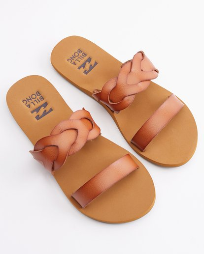 0 Shelly Double Strap Sandals Beige ABJL200030 Billabong