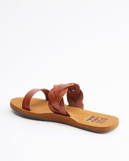 3 Shelly Double Strap Sandals Beige ABJL200030 Billabong