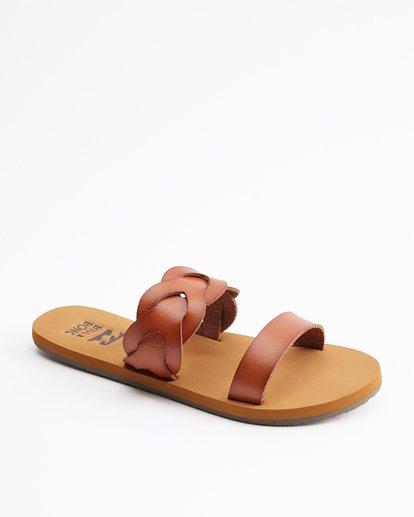2 Shelly Double Strap Sandals Beige ABJL200030 Billabong